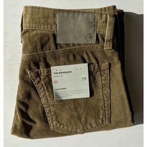 AG The Graduate Corduroy Pants - Size 29 - NWT